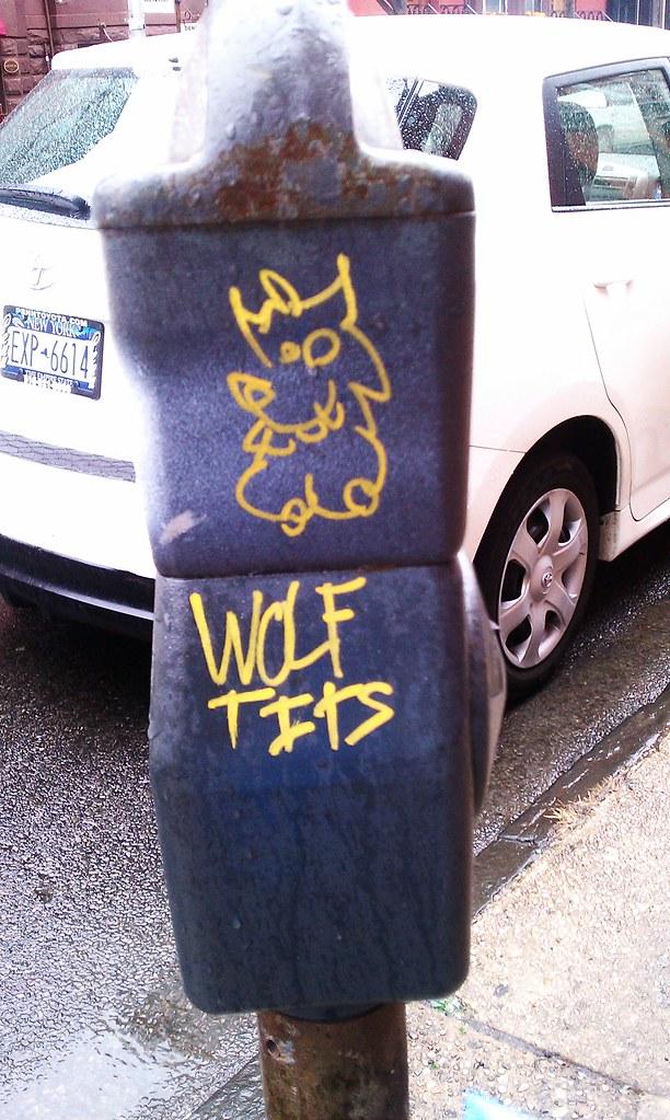 Wolf tits