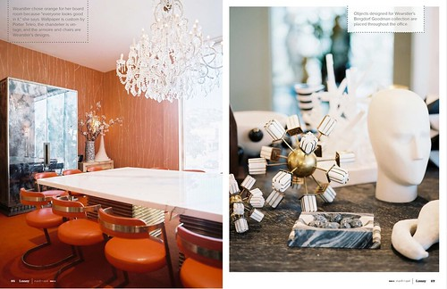1_LonnyMagazine_1_Kelly Wearstler Fabulous Board Room, Interior Design, Home Ideas