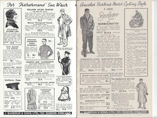 Barbour 1953 Catalogue 3