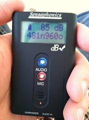 Sensaphonics dB checker