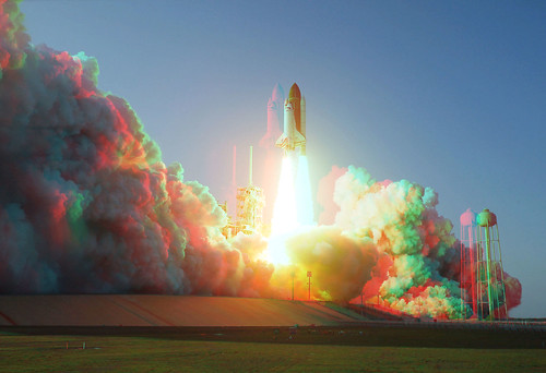 3D Shuttle Launch STS-133