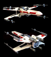 X-wing (psiaki) Tags: new red rebel hope star lego 5 luke rebellion xwing wars rogue alliance skywalker squadron yavin moc t65 starfighter incom