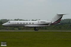 N415QS - 4014 - Netjets - Gulfstream G450 - Luton - 100519 - Steven Gray - IMG_2375