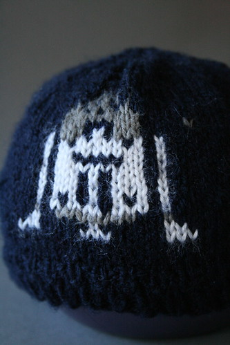Handknit R2D2 Baby Hat - Star Wars Inspired Fair Isle Knitting