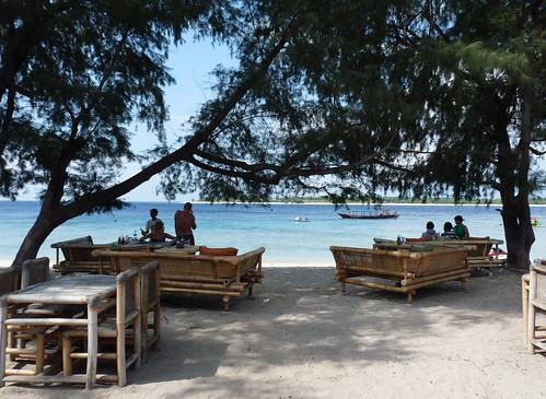 Gili – indonéské ostrůvky pod Rinjani a měsícem