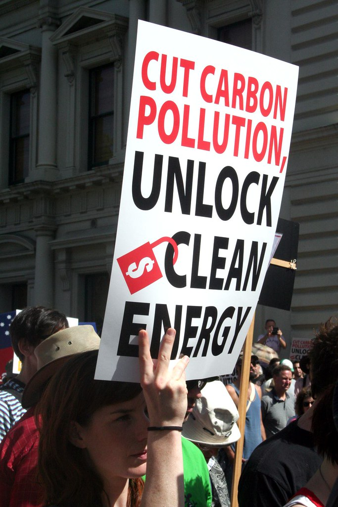 Price the Polluters Rally - Cut carbon Pollution Unlock clean energy