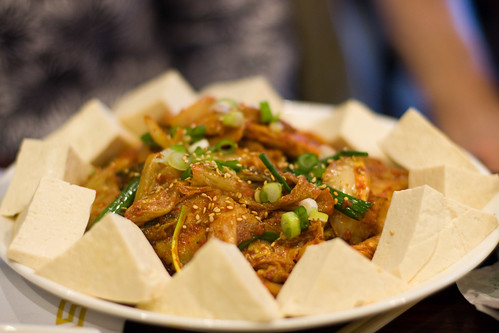 Do Re Mi: pork, kimchee and tofu
