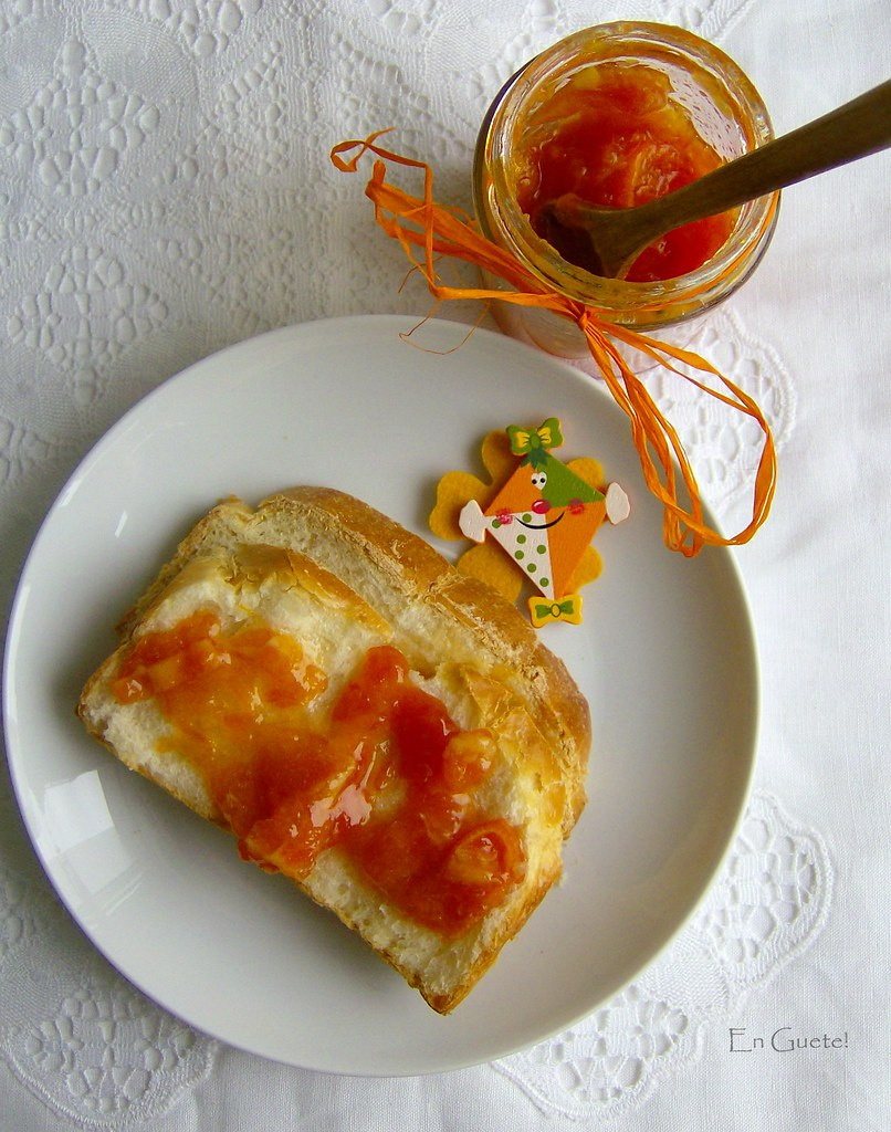 Mermelada de kumquats, quinotos, recordando a Ciber.
