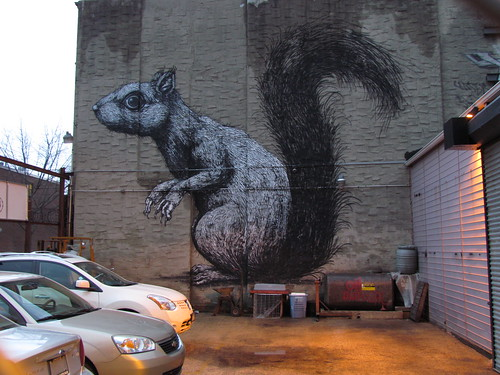 Work by Roa