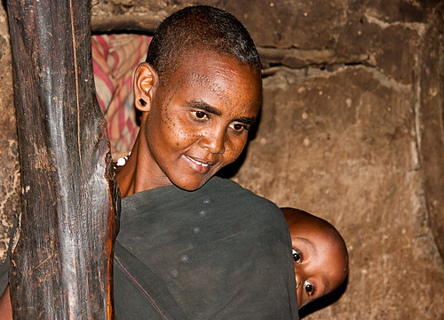 Datoga mother and child