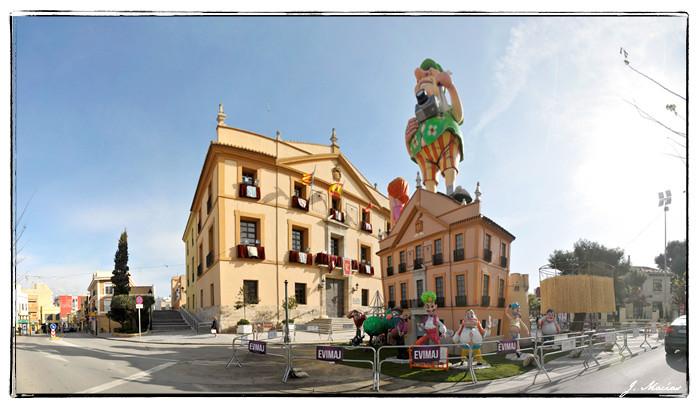 Falla Ayuntamiento de Paterna 2011
