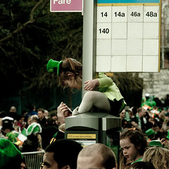 Bus Stop (lakesly) Tags: ireland dublin parade stpatricksday imagespace:hasdirection=false