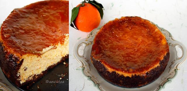 ricetta con foto cheesecake arance