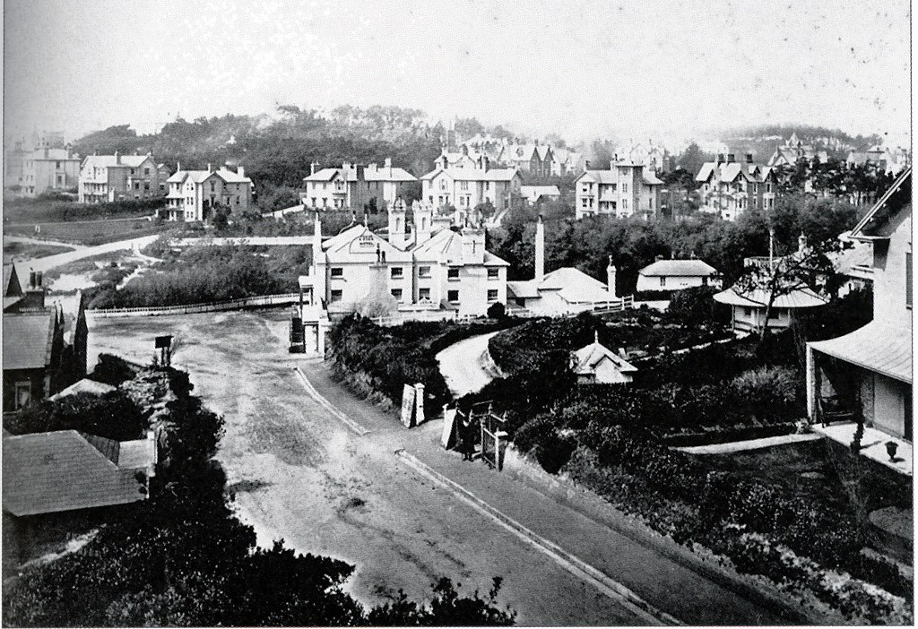 LOOKING WEST FROM BATH RD.  BOURNEMOUTH.  c1873