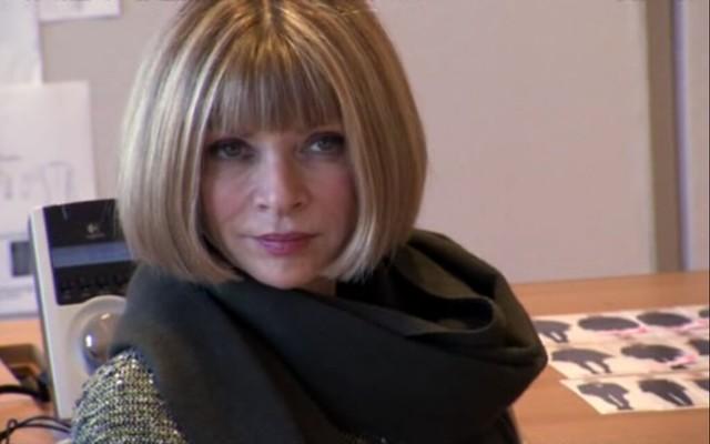 Anna Wintour- editor of Vogue