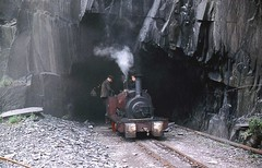 R0631  GEORGE B Dinorwig Jun1961 (Ron Fisher) Tags: georgeb dinorwig slatequarry quarryhunslet