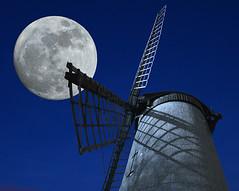 Full Moon Mill (Lost Light) Tags: moon mill windmill night wirral bidston wdcc bidstonwindmill