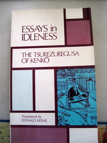 essays in idleness by kenko summary