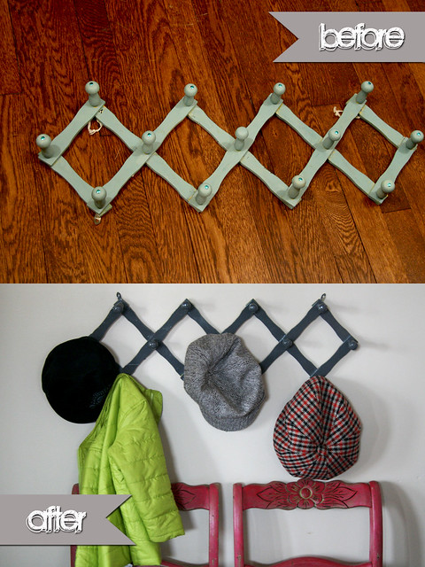 Before & After: Hat Rack