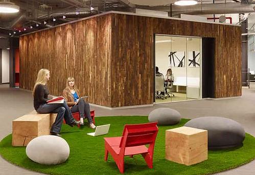 skype's new palo alto office by blitz design