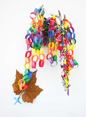 globs of rainbow (hownowdesign) Tags: house color home diy rainbow colorful bright desk handmade garland projects homeoffice homedecor artsandcrafts paperchain rockcandy abbeyhendrickson aestheticoutburst hownowdesign