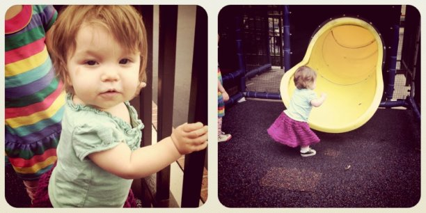 elle and the playground