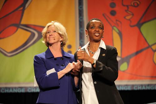 Moria Gunn & Donna Edwards