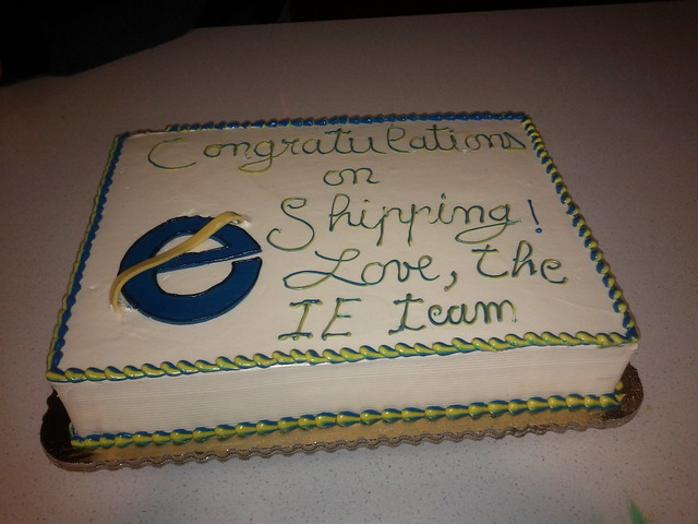 Microsoft sends Mozilla (another) Cake for the Firefox 4 Release