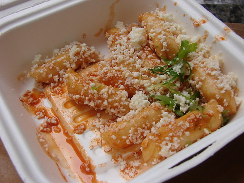 Spicy Rice Cake from Kimchi Taco Truck