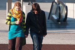 (Erik.N) Tags: street people portugal dreadlocks candid porto escalators dreads saobento nikon70300mmvr