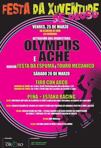 Oroso 2011 - Festa da Xuventude de Oroso - cartel