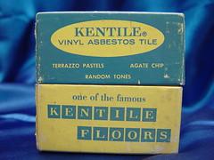 Kentile Asbestos Floor Tile Set Carton (Asbestorama) Tags: agate vintage tile floor random vinyl retro pastels chip vat flooring tones kentile terrazzo asbestos