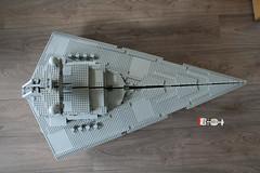 Star Destroyer and Blockade Runner (marvelousRoland) Tags: starwars lego stardestroyer ucs imperialstardestroyer rebelblockaderunner 10030 tantiveiv