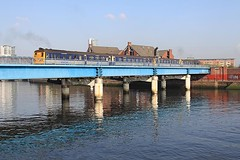 80 Class, River Lagan, Belfast, 24 March 2011 (Mr Joseph Bloggs) Tags: central belfast class translink 80 nir lagan 8090 8752 8749 8094