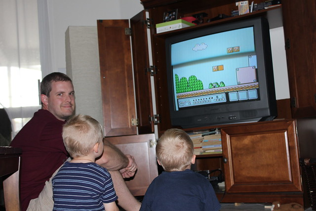Learning Mario Brothers