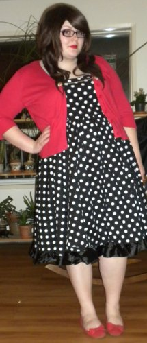 domino dollhouse dress
