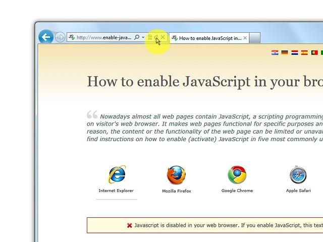 """Infine clicca sul pulsante del browser """"Refresh"""" per aggiornare la pagina."""