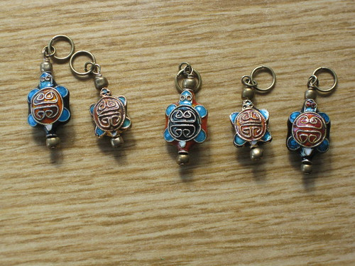 More turtle stitch markers