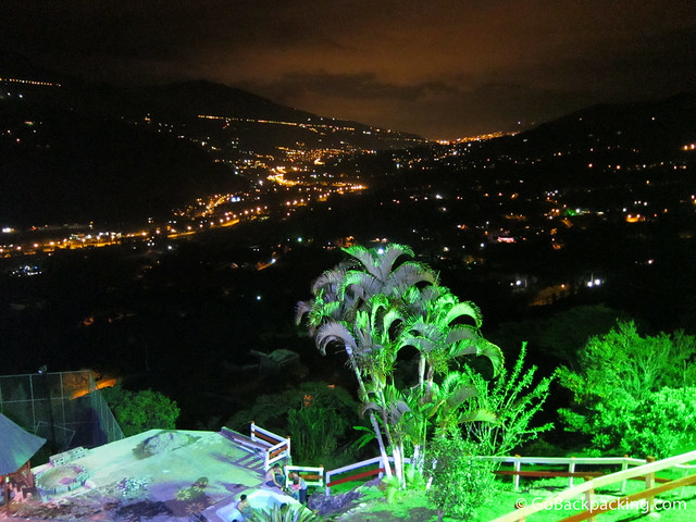 Lights from Medellin