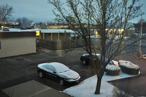 Jackson OH: Snow!