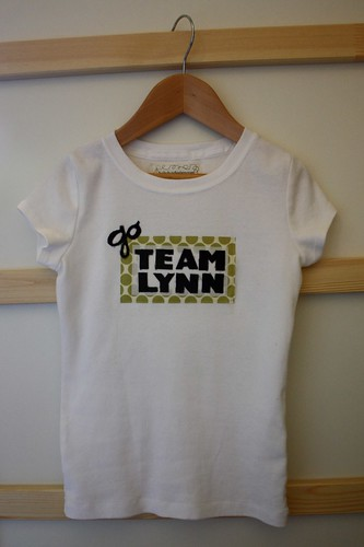 custom applique t-shirt