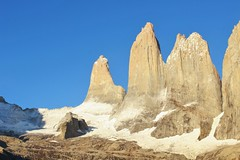 Torres del Paine (nur_castillo) Tags: torresdelpaine mountain trekking climbing outdoor patagonia blue sky rock travel backpacker southamerica