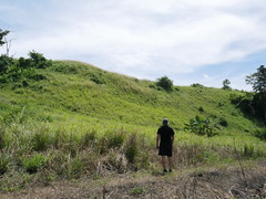 On Guadalcanal searching for war relics and battlegrounds!