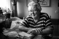 Happy (sknk) Tags: nokton voigtlnder portrait granny old woman 35mm f12 bokeh dof shallow voigtlander