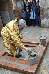88. The Laying of the Foundation Stone of the Church of Saints Cyril and Methodius / Закладка храма святых Мефодия и Кирилла 09.10.2016