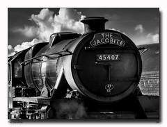 The Jacobite (jeremy willcocks) Tags: jacobite harrypotter scotland scottish uk train steam old landscape blackandwhite mono sun sunny jeremywillcocks wwwsouthwestscenesmeuk fujixt1 xf50140mm