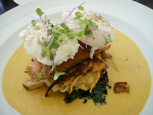 Poached Eggs and Trout