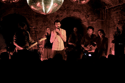5552391390 5d61b07035 Edward Sharpe & The Magnetic Zeros live @ The Old Vic Tunnels, London