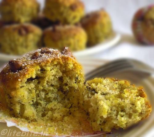 wheatgerm banana muffins