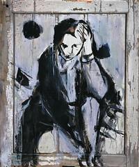 10 óleo sobre tabla   98x81 cm 1995 (arteneoexpresionista) Tags: rando jorge figuras pinturas neoexpresionismo